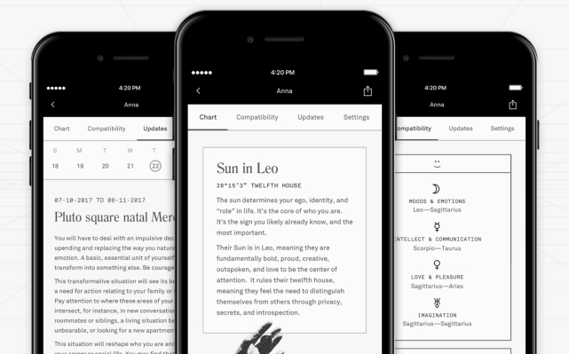 Co-Star raises $5 million to bring its astrology app to Android