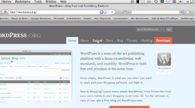 WordPress installation and theme tutorial