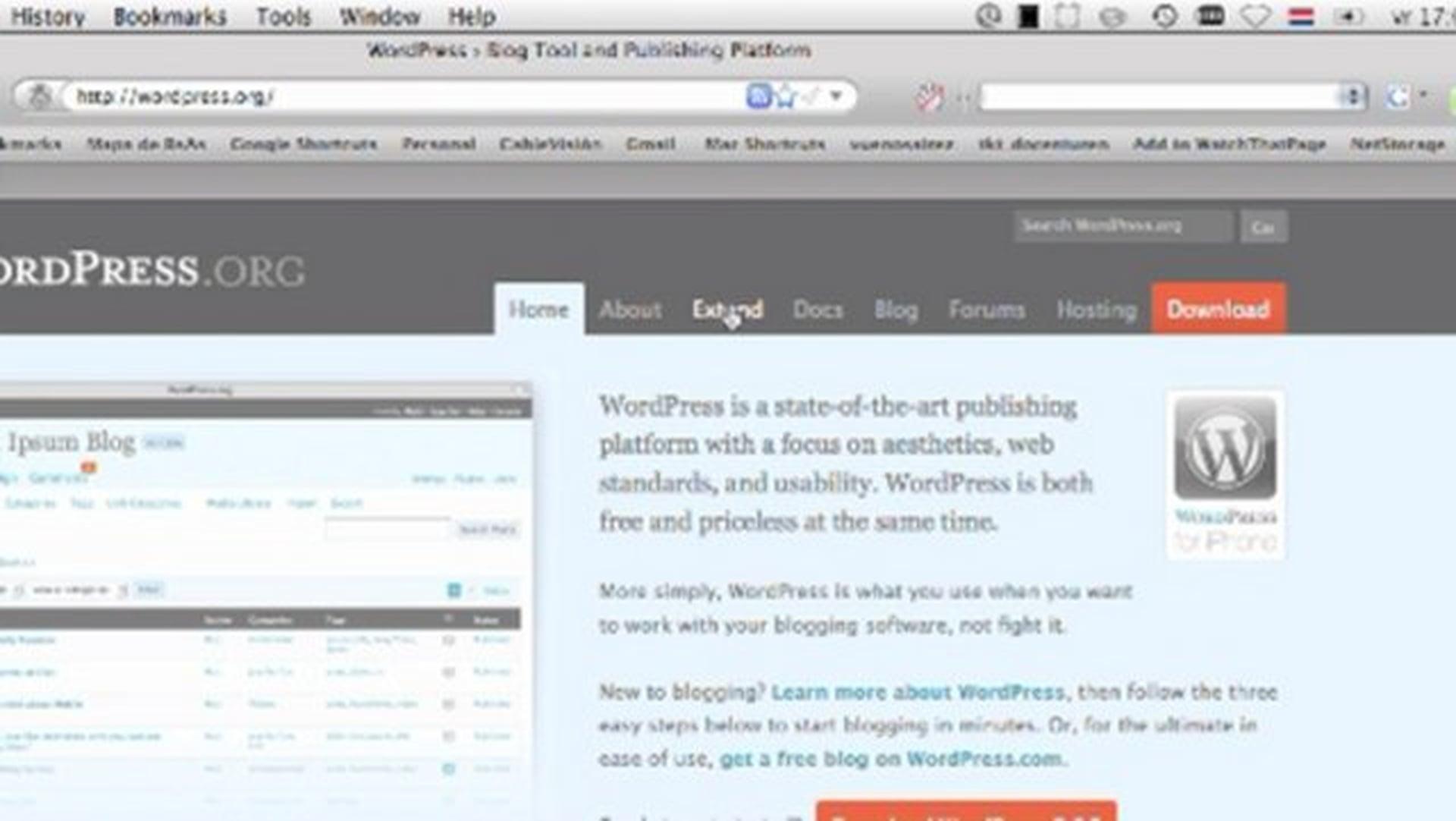 WordPress installation and theme tutorial