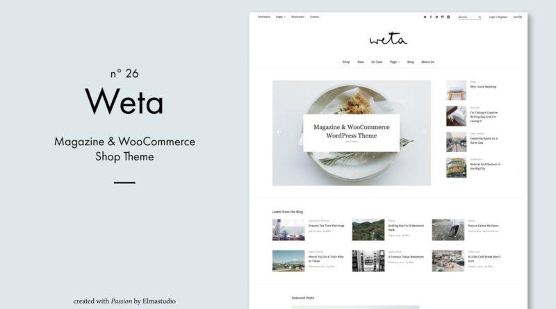 Weta WordPress Theme (de)
