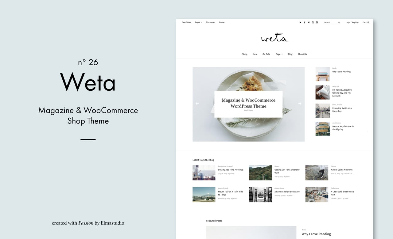 Weta WordPress Theme (de)