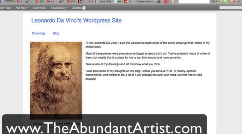 How to Build an Artist Website with WordPress