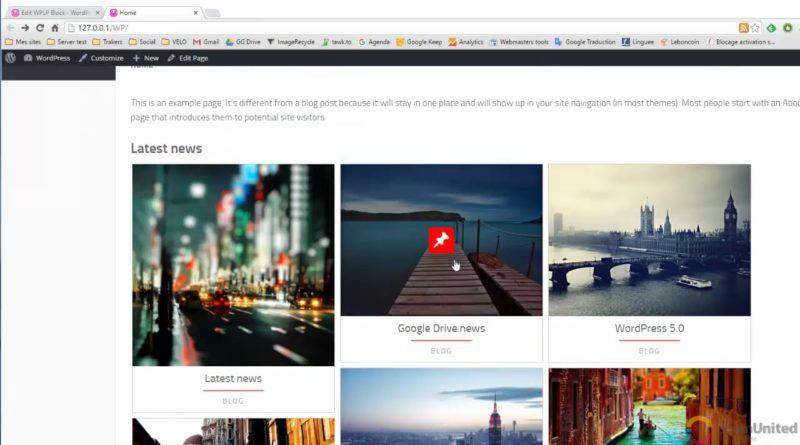WP Latest posts – WordPress