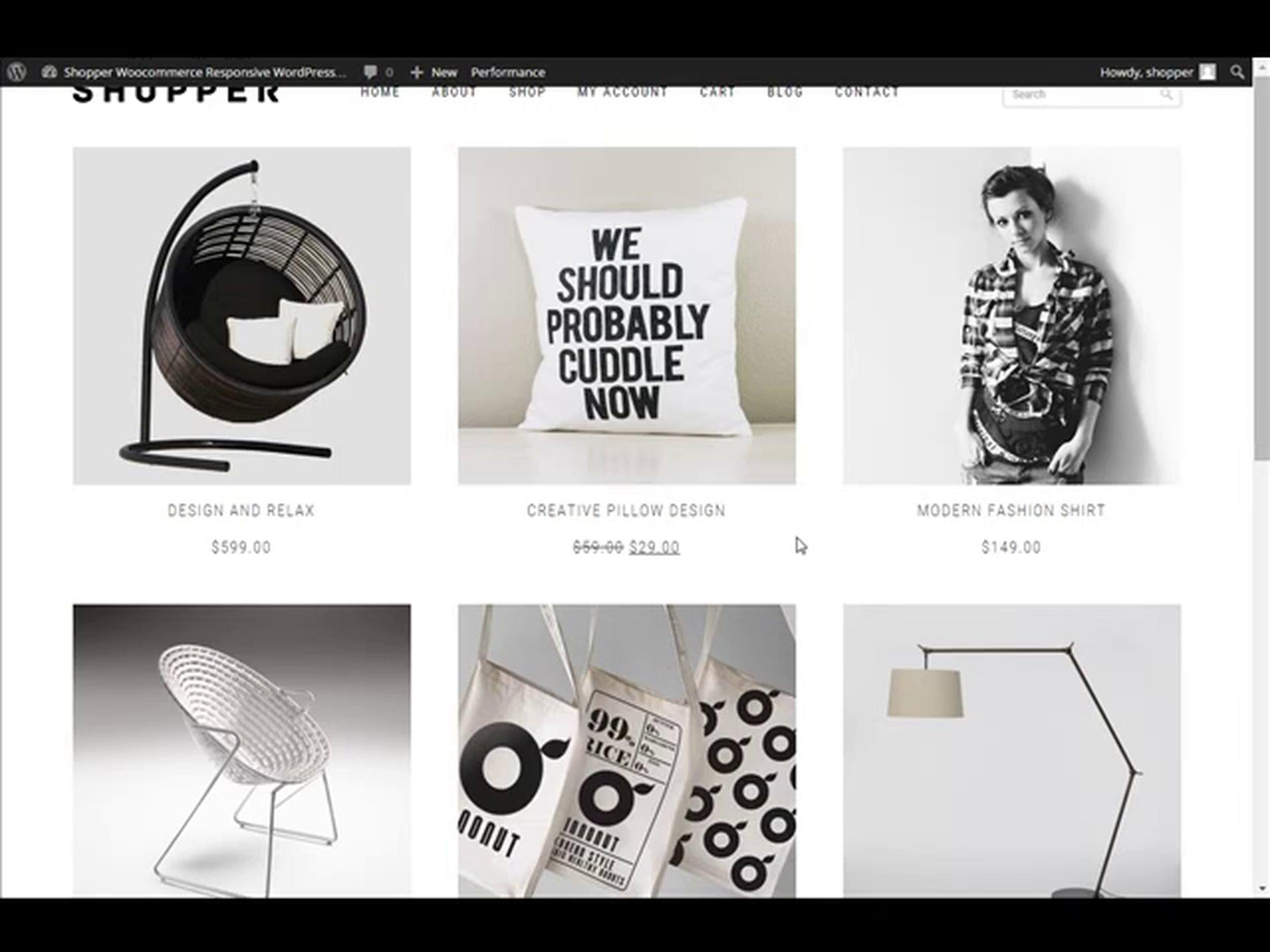 Shopper Woocommerce WordPress Theme