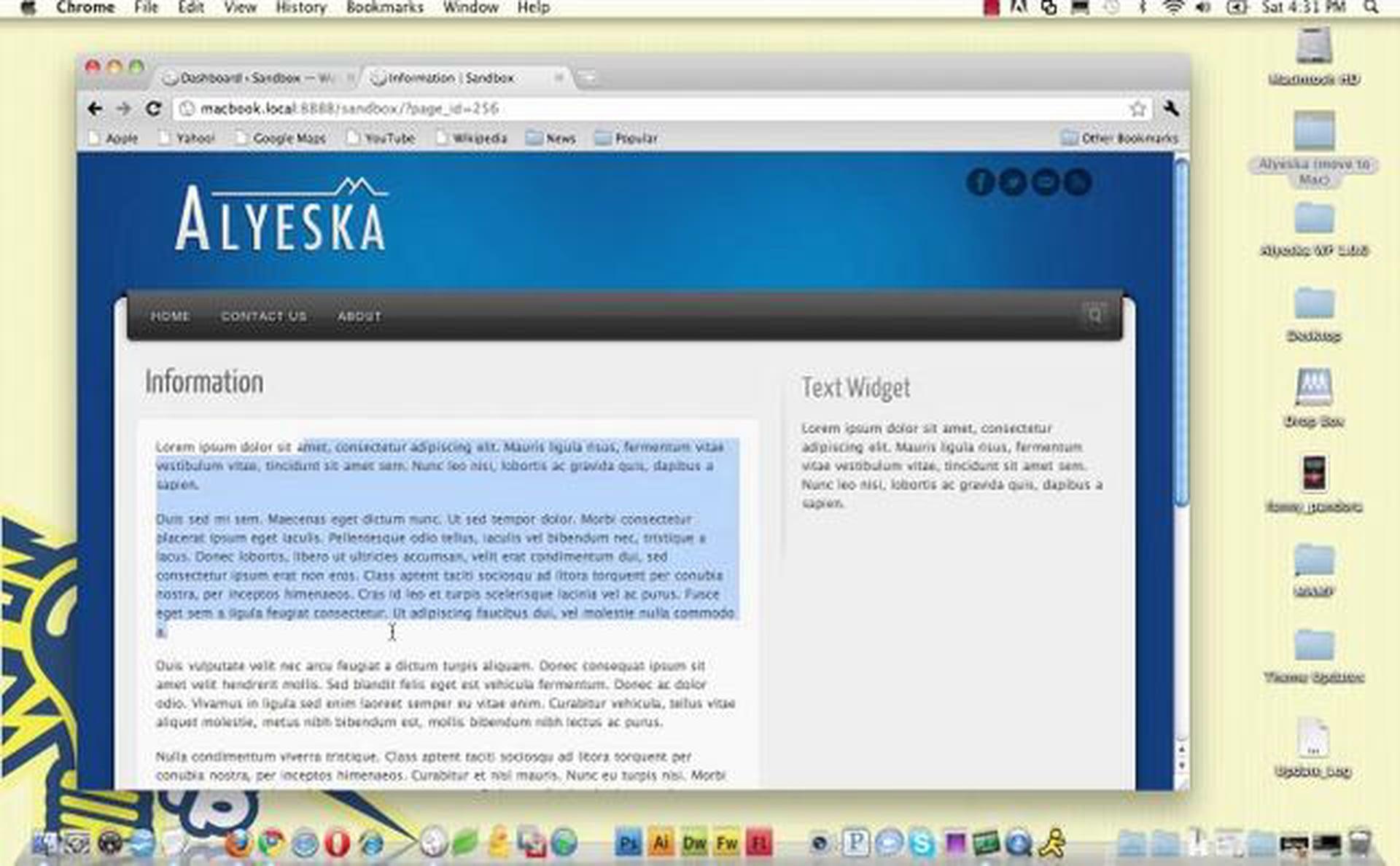ThemeBlvd WordPress Font Control