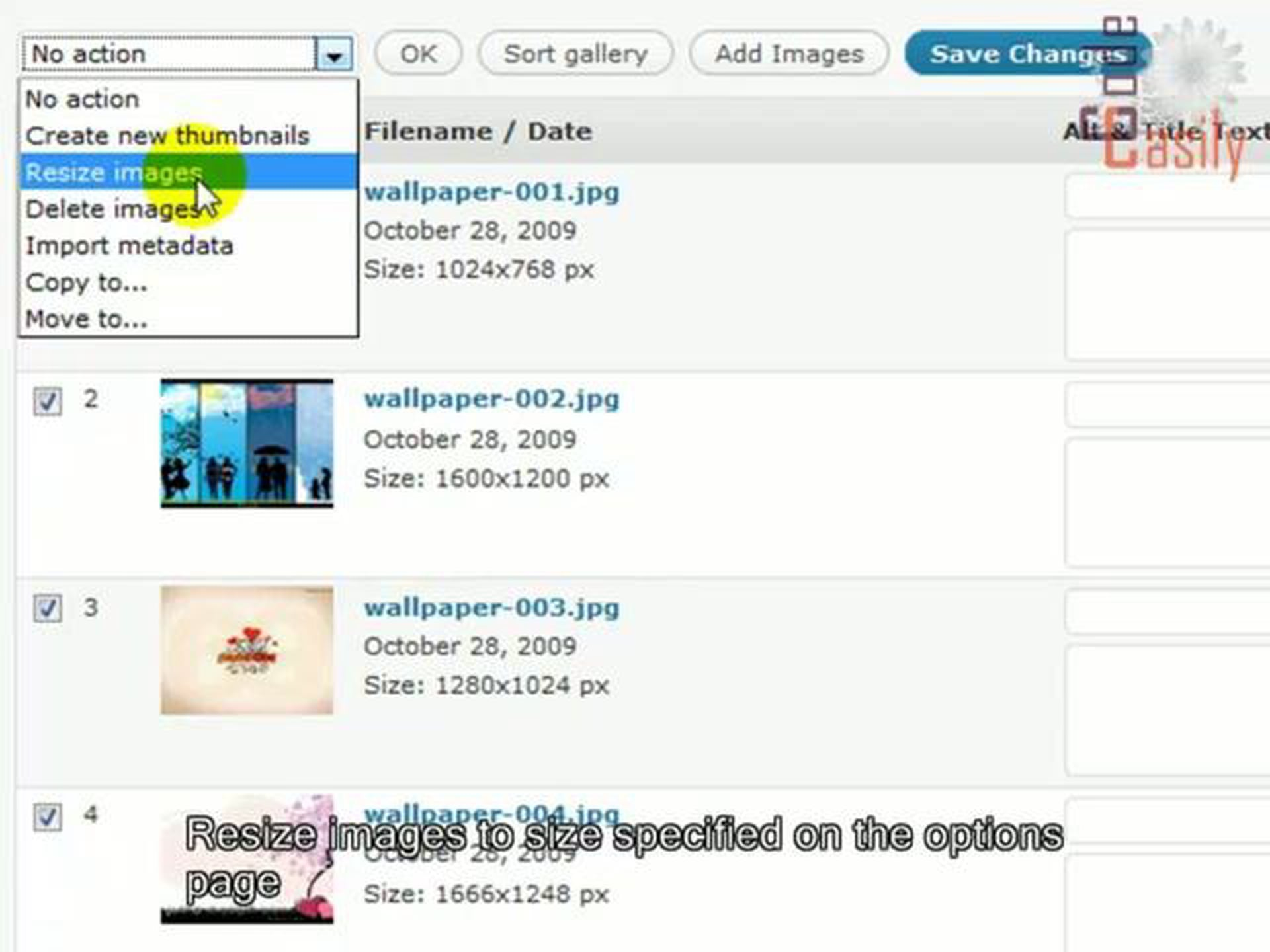 GRAND FlAGallery WordPress plugin tutorial