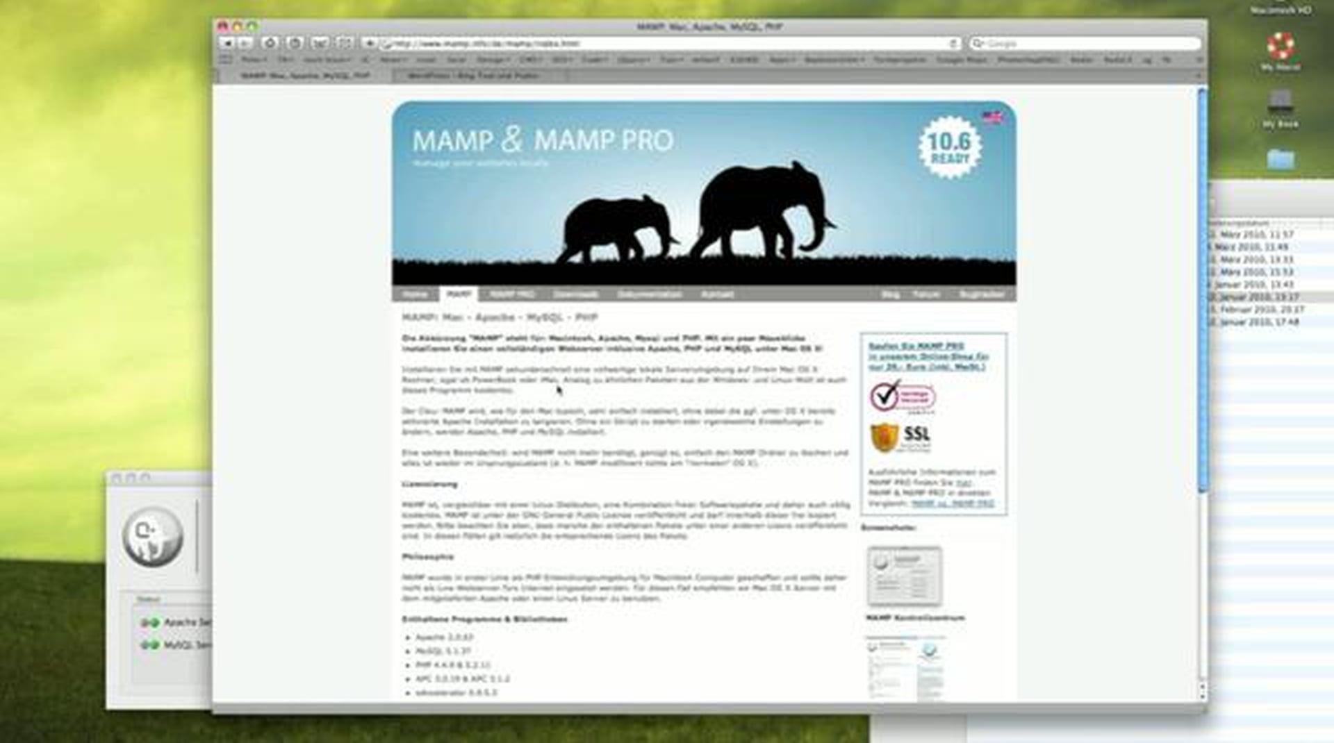 WordPress lokal mit MAMP auf dem eigenen Mac installieren