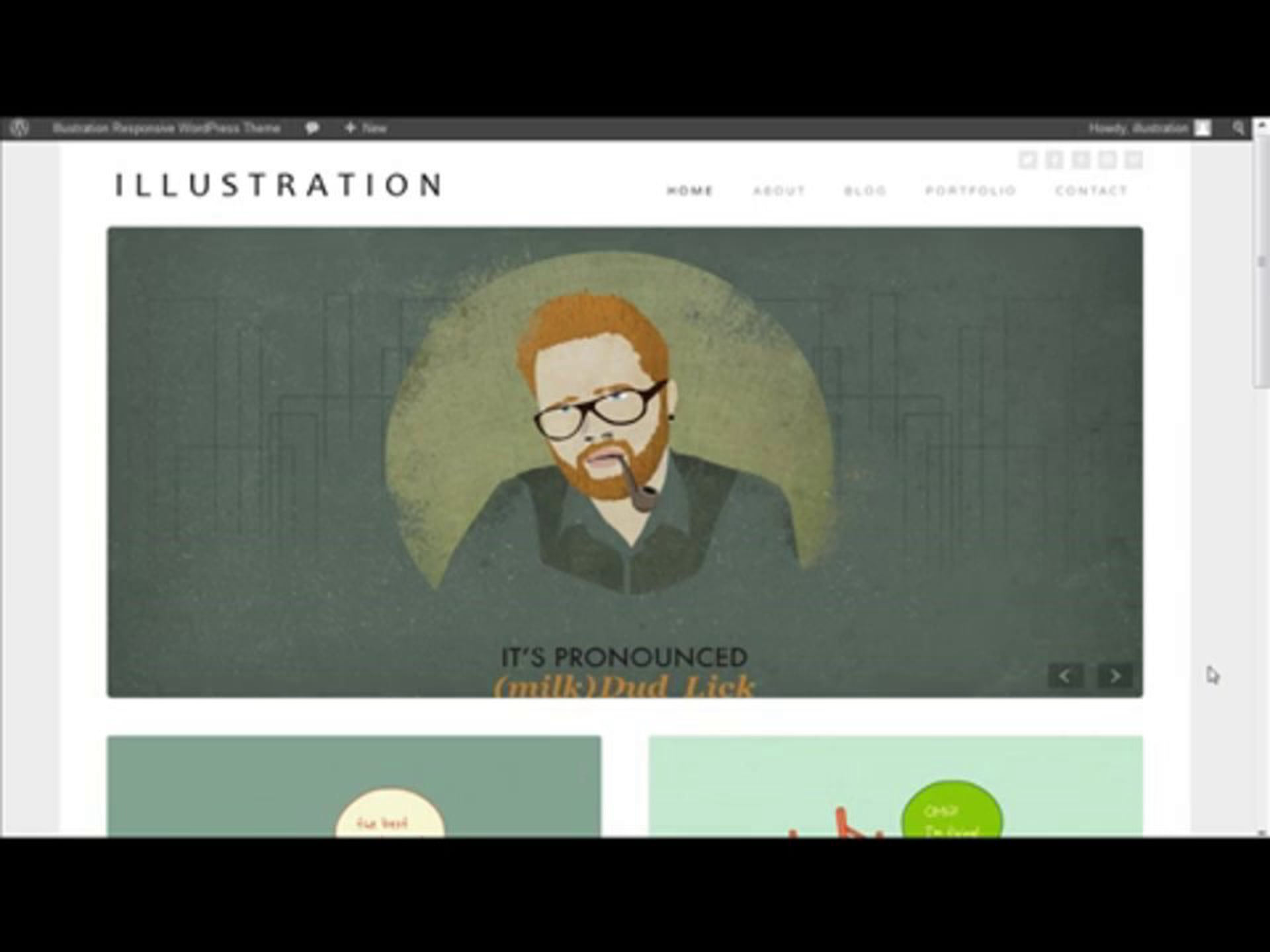 Illustration Responsive WordPress