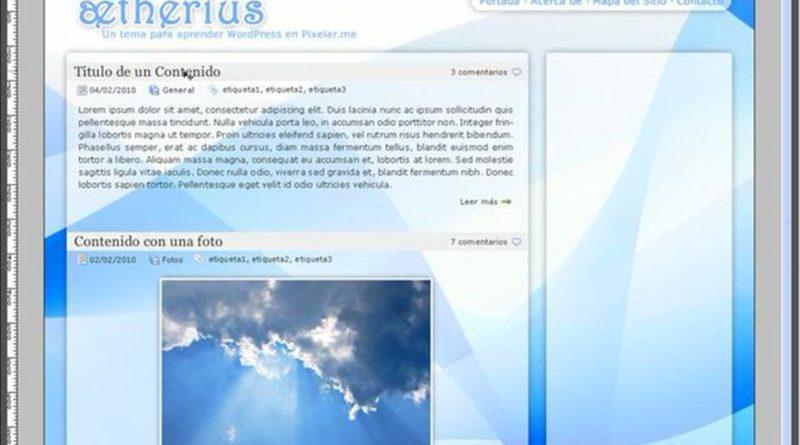 Diseño de un theme de WordPress – WordPress Initiate