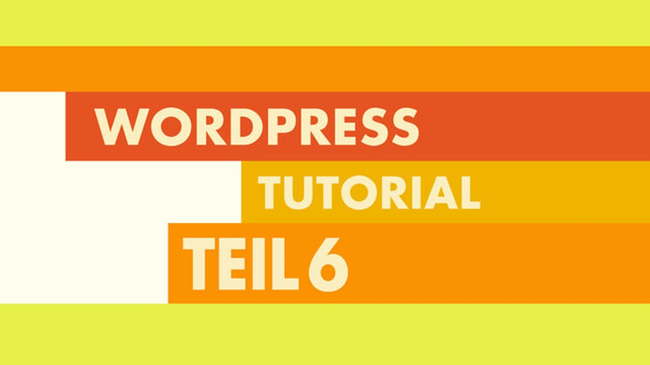 WordPress Video-Tutorial Teil 6: WordPress Testdaten importieren
