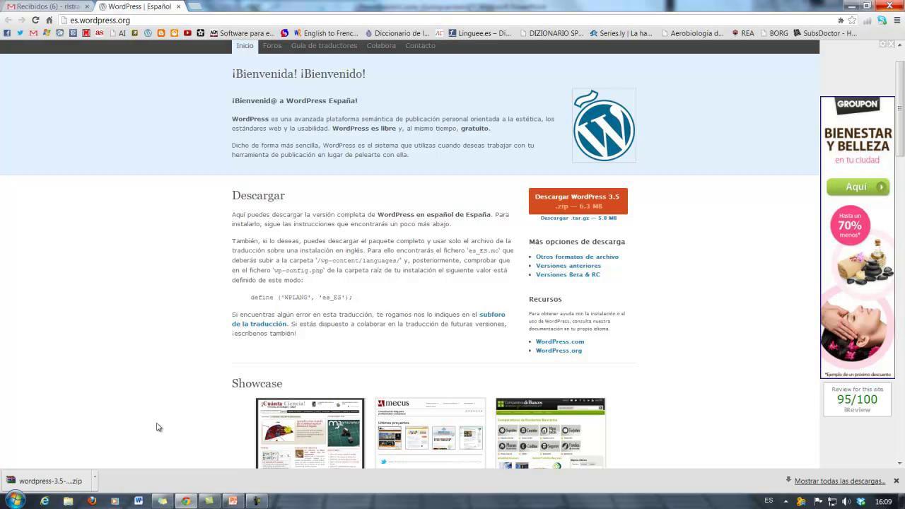 Cómo diseñar tu propia página web profesional con WordPress – Blog Jugando a Traducir