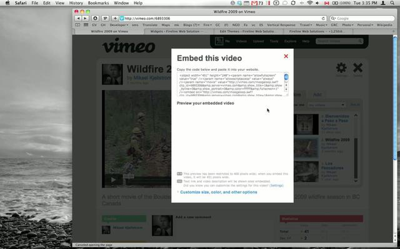 How to publish Vimeo videos on WordPress