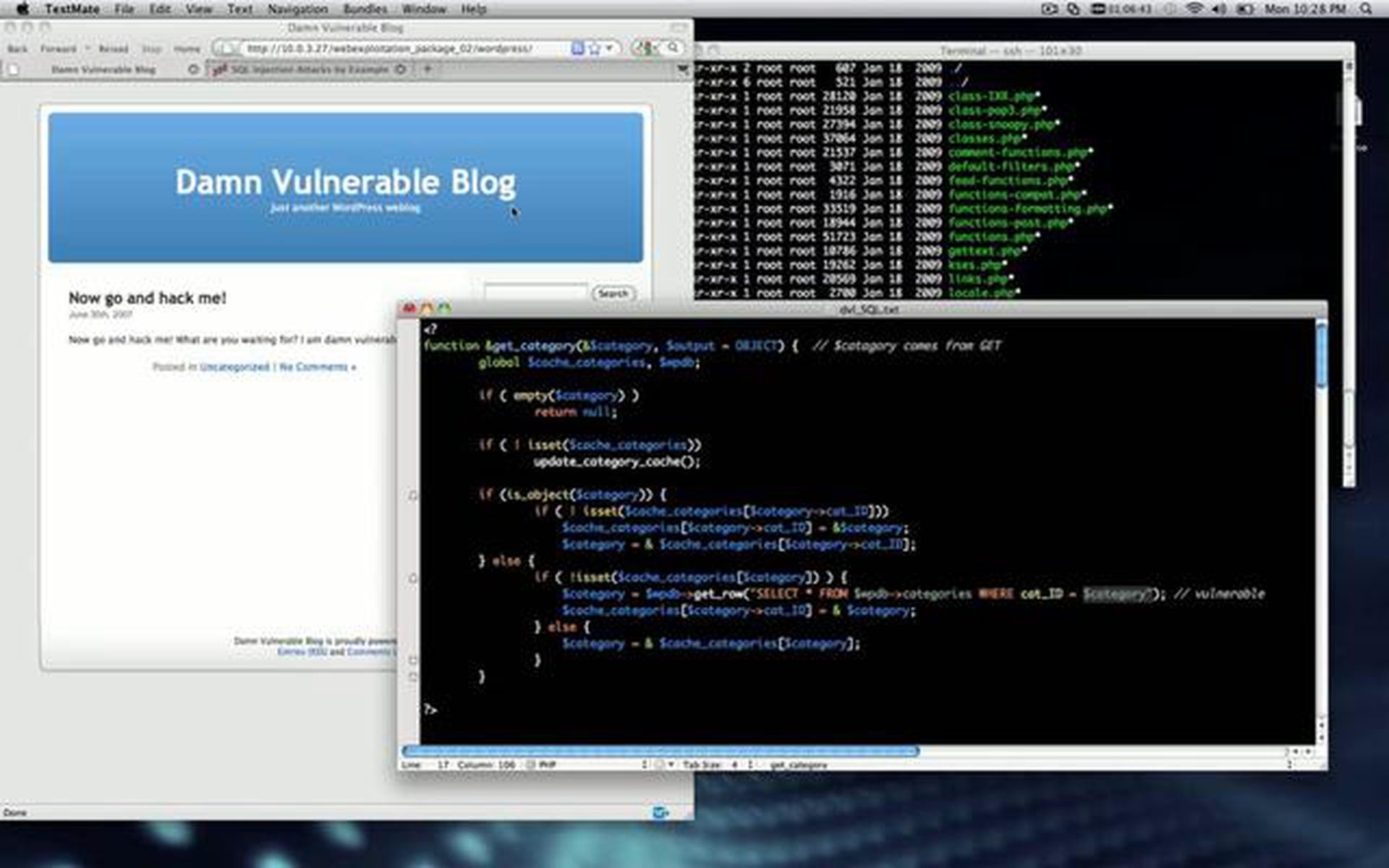WordPress SQL Injection