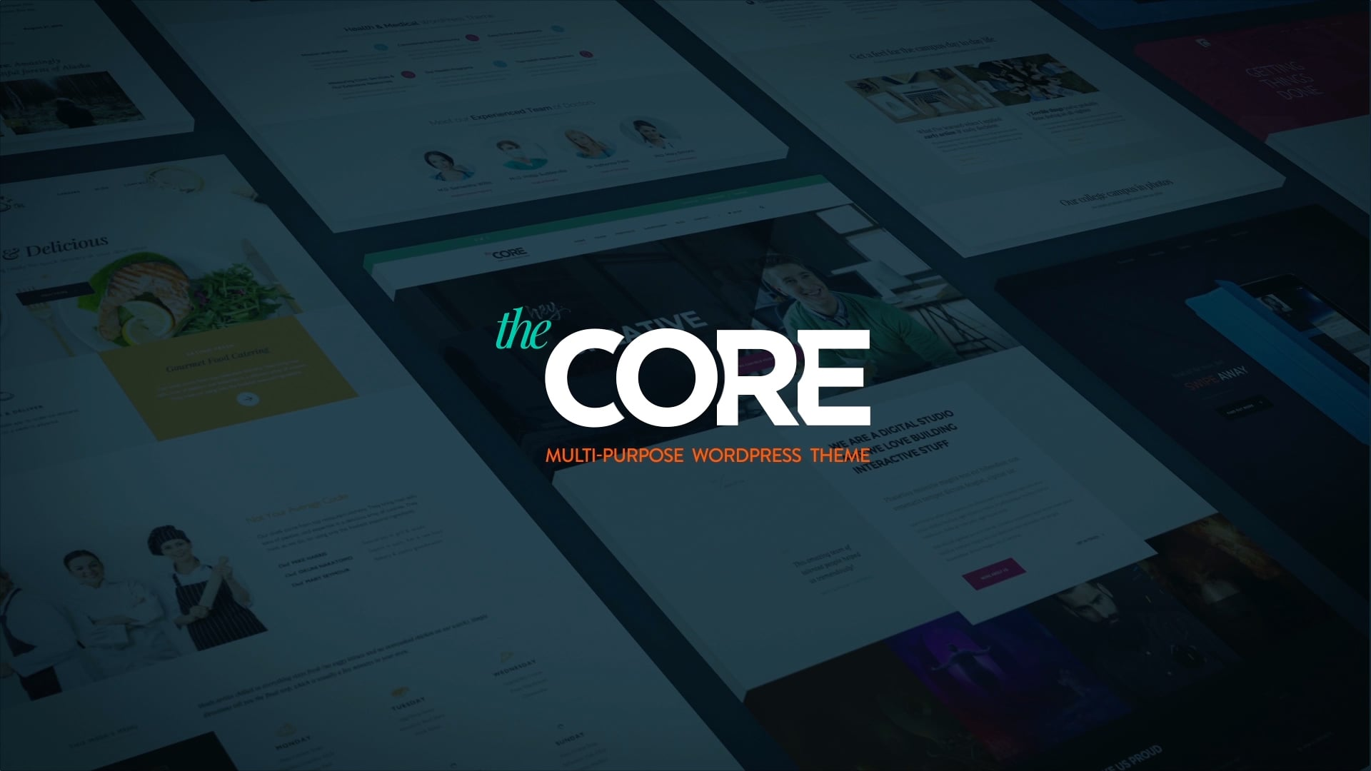 THE CORE WordPress Theme – Video Presentation