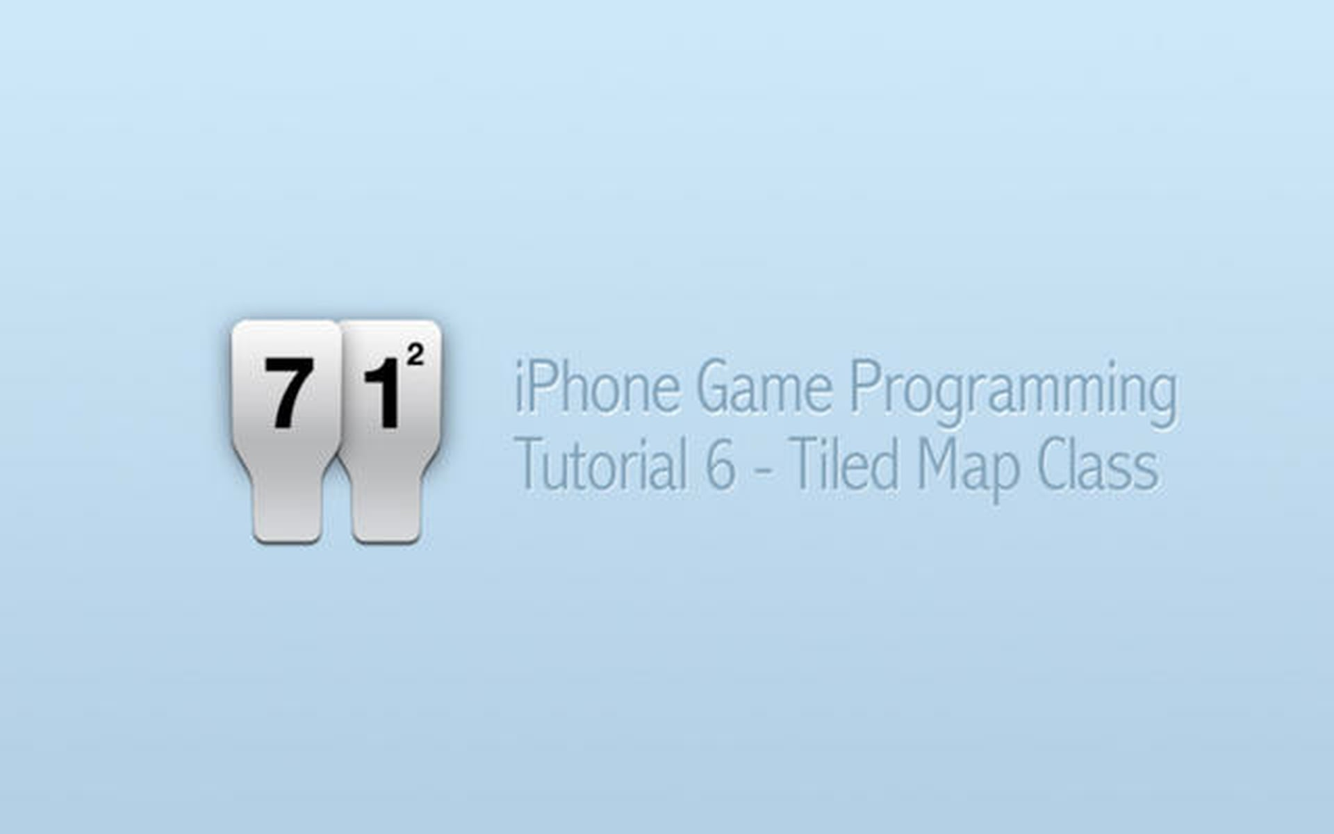 iPhone Game Programming – Tutorial 6 – Tiled Map Class