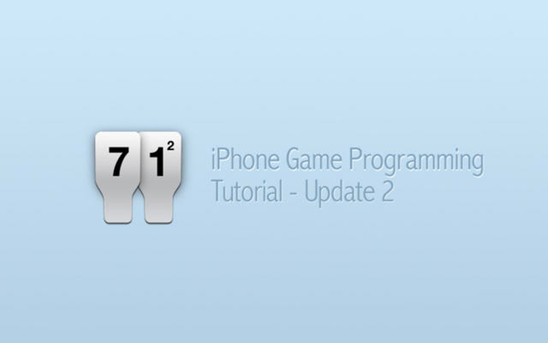 iPhone Game Programming – Tutorial Update 2