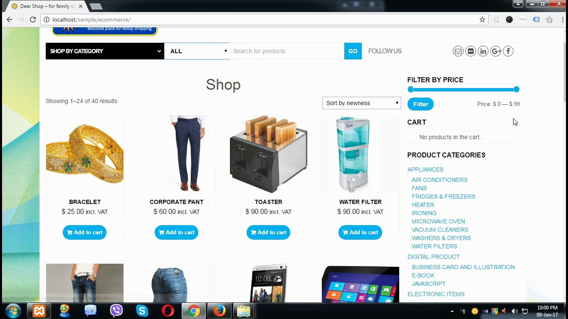 Responsive WordPress Theme for eCommerce, 5