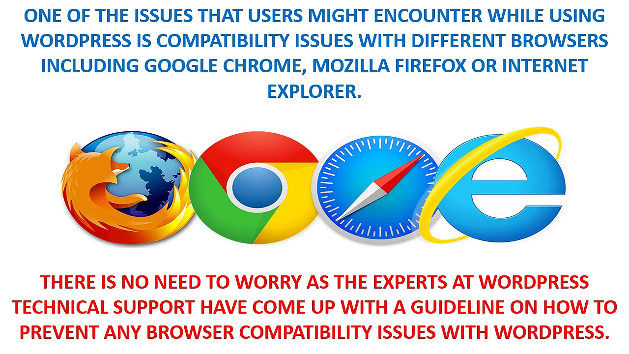How To Resolve WordPress Browser Compatibility Issues