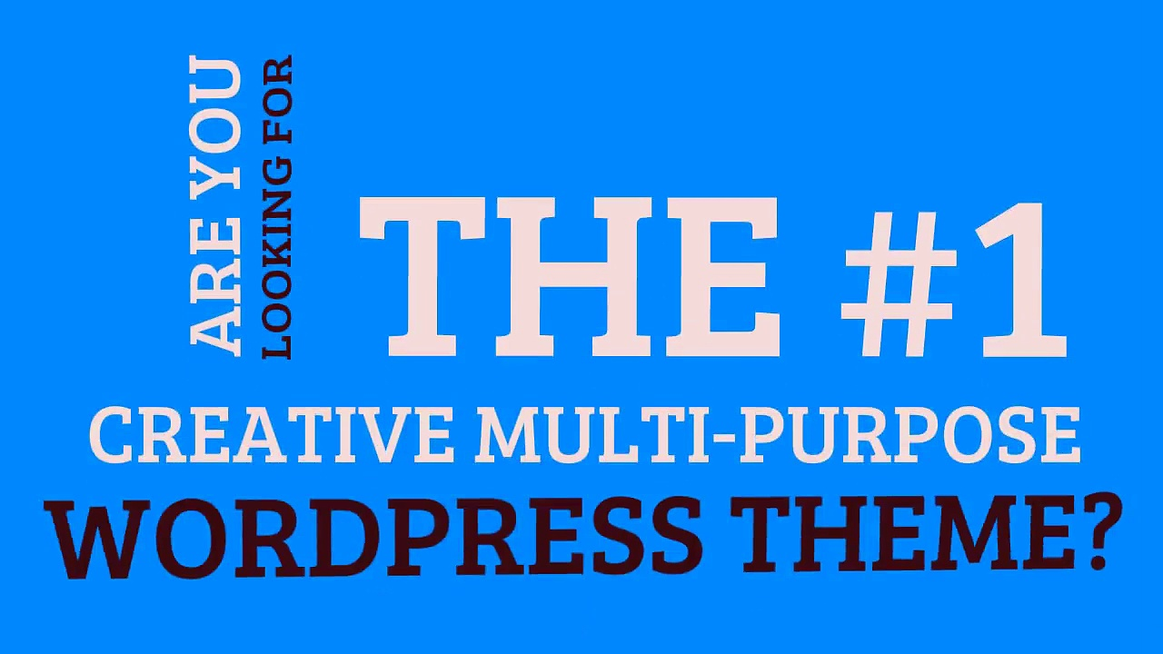 Creative Multi-Purpose WordPress Theme – Deep