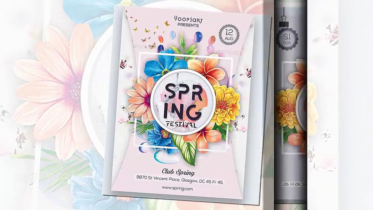 Spring Flyer _ Envato Maket