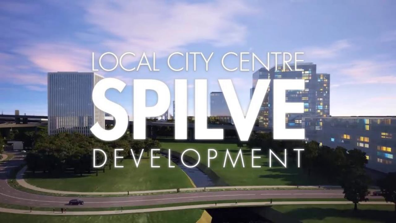 Local City Centre SPILVE Development by ARHIS