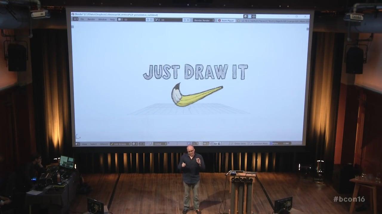 Grease Pencil future developments conference (oct 2016)