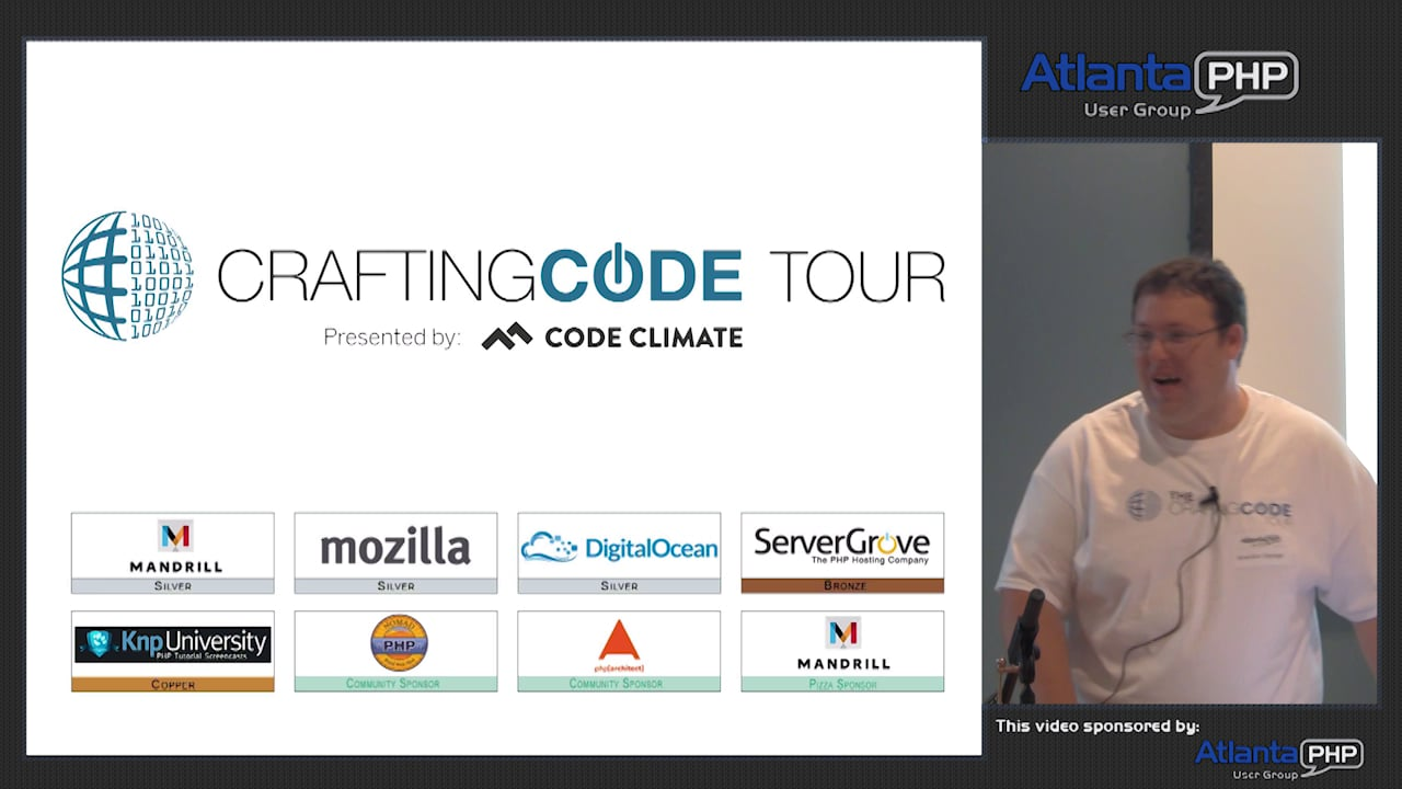 Crafting Code Tour And PHP From The CLI
