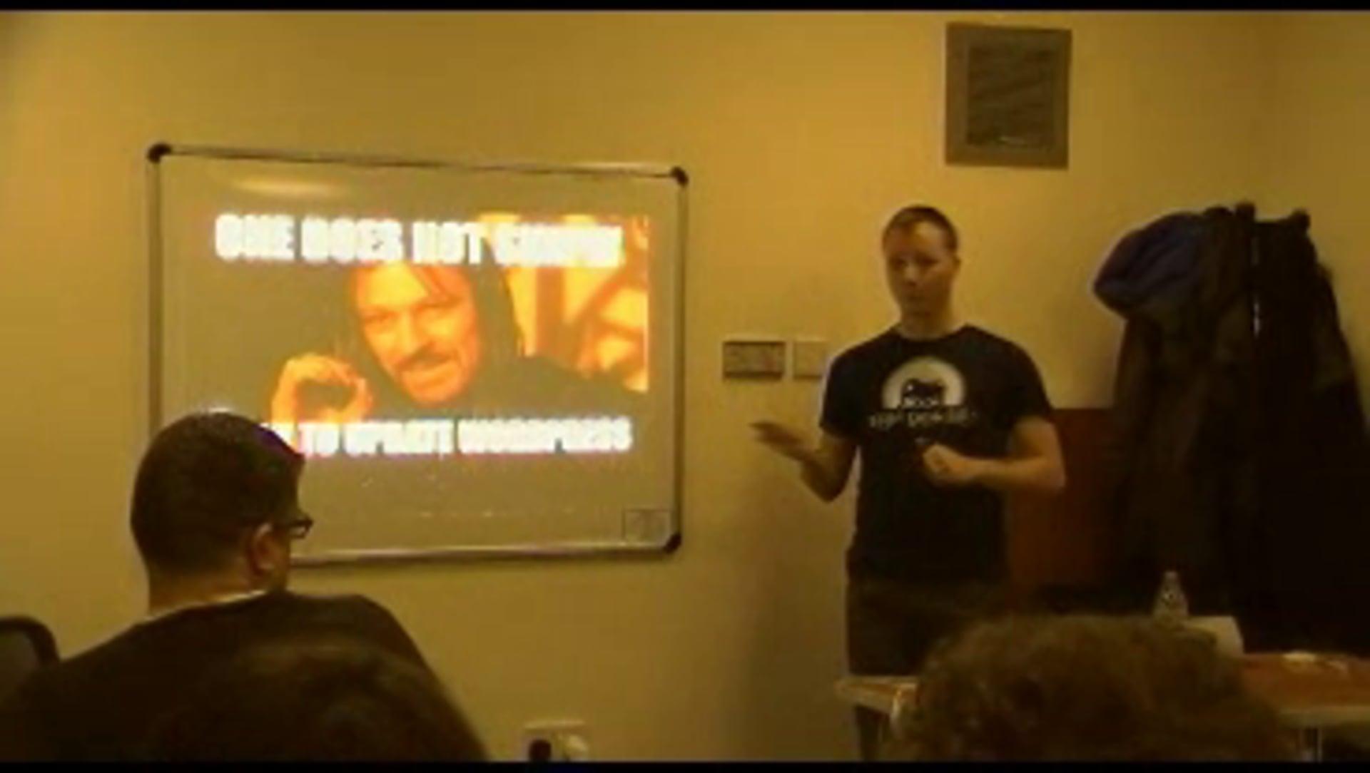 WordPress for the modern PHP developer – March 2015 Talk for PHPDorset User Group – Chris Sherry