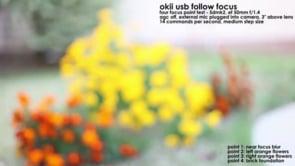 USB follow focus – focus point test with 5D Mark II