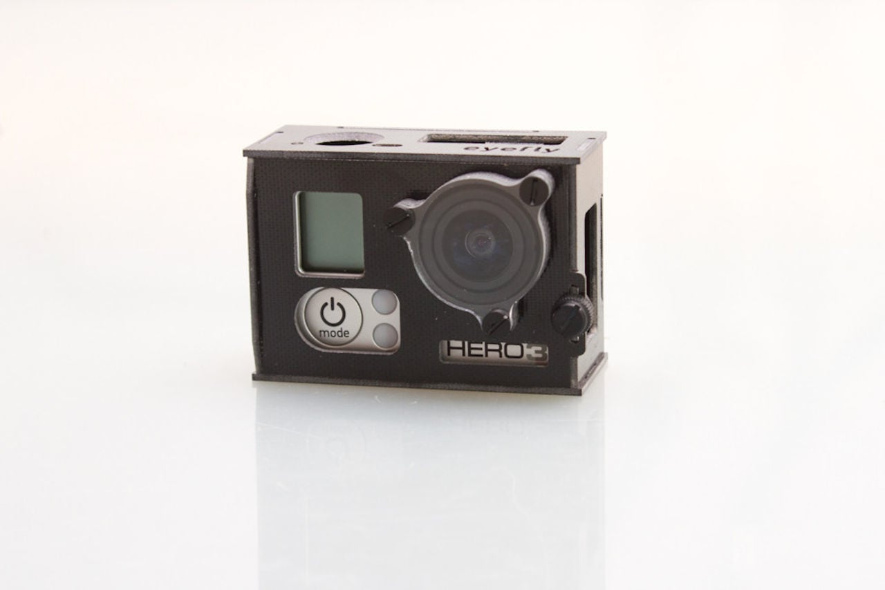GoPro Hero 3 housing – final version