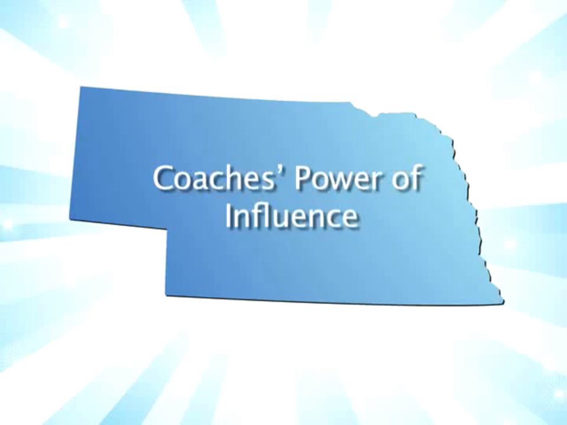 Coaching Beyond the Game, October 2013: Coaches' Power of Influence