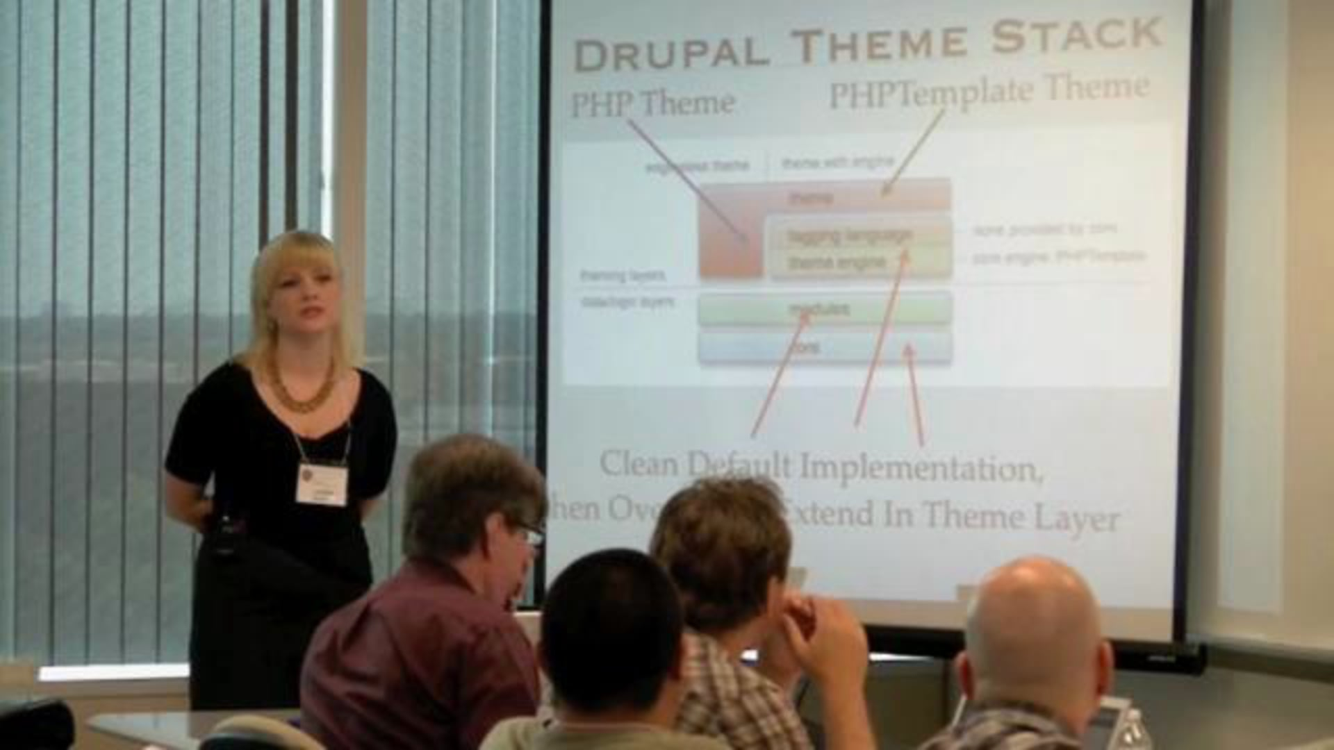 Theming From A Developer's Perspective | Lauren Roth | DrupalCamp Dallas 2009