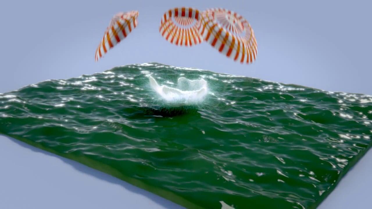 Apollo Splashdown with VFX Shotbreakdown