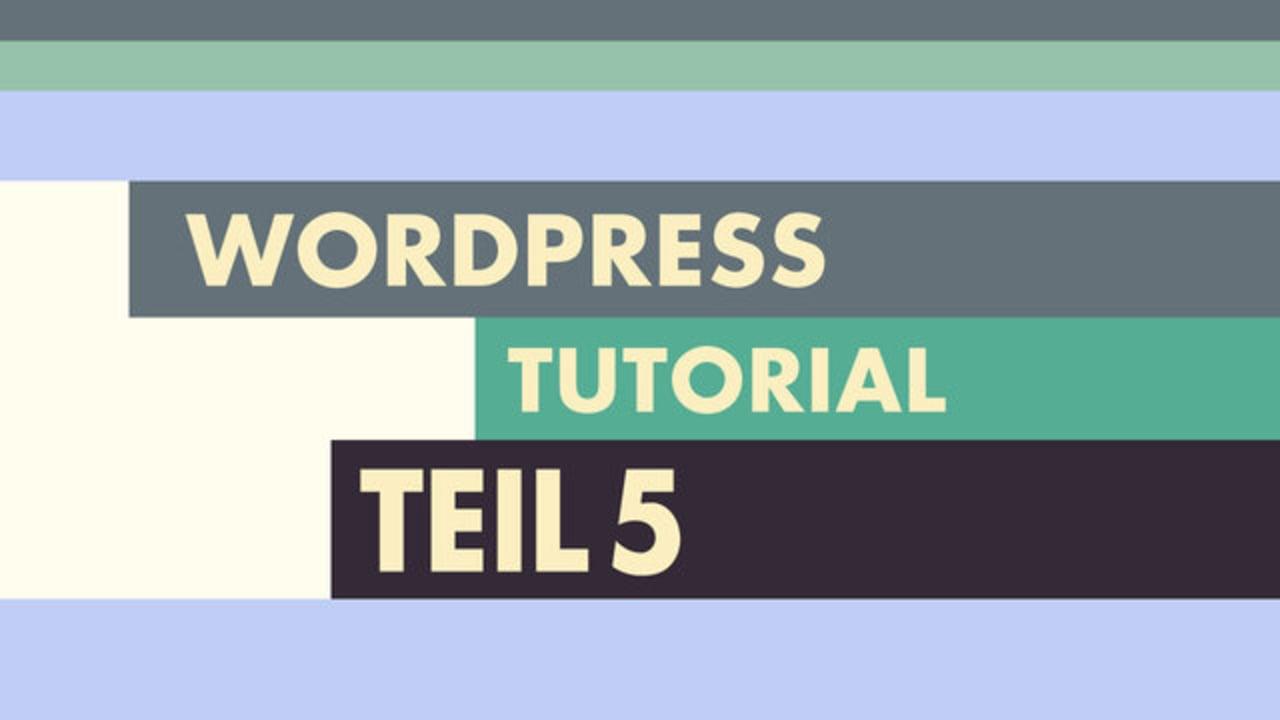 WordPress Video-Tutorial Teil 5: CSS3 Media Queries und der Viewport meta-tag