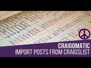 Craigomatic Automatic Post Generator Plugin for WordPress