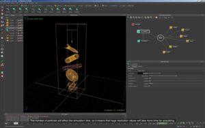 RealFlow 2015 tutorials : Dyverso. Modifying the resolution.