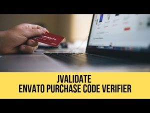 JValidate – Envato Purchase Code Verifier