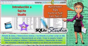 Tutorial SQLite Studio – Tema02: Introducción a SqLite Studio