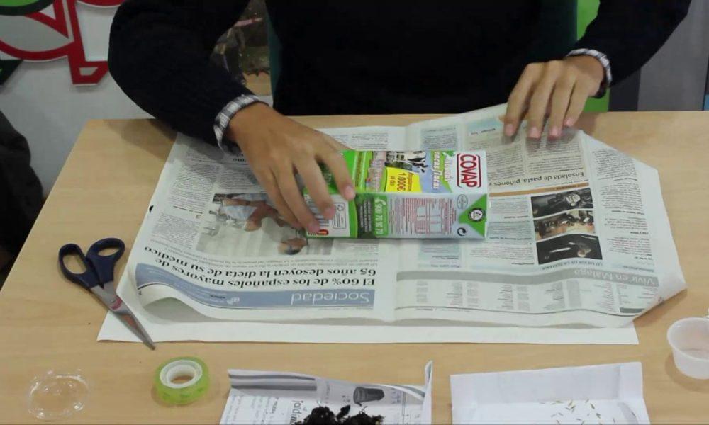 Taller: Cómo hacer un lapicero ecológico