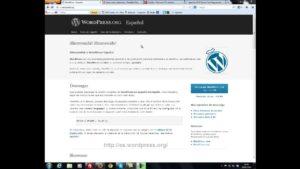 Instalación de wordpress en un hosting profesional Curso de WordPress para Bloggers Principiantes