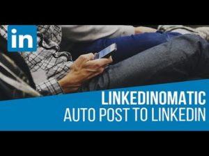 Linkedinomatic v2 API update – post automatically to your LinkedIn profile