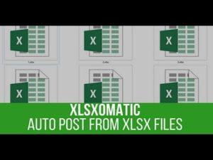 Xlsxomatic Automatic Post Generator Plugin for WordPress