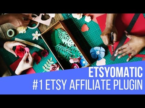 Etsyomatic Etsy Affiliate Post Generator Plugin for WordPress