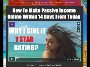 """Udemy course honest review: """"How To Make Passive Income Online Within 14 Days From Today"""""""