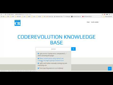 CodeRevolution Knowledge-Base Website
