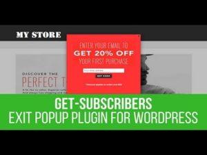 Get Subscribers Popup WordPress Plugin