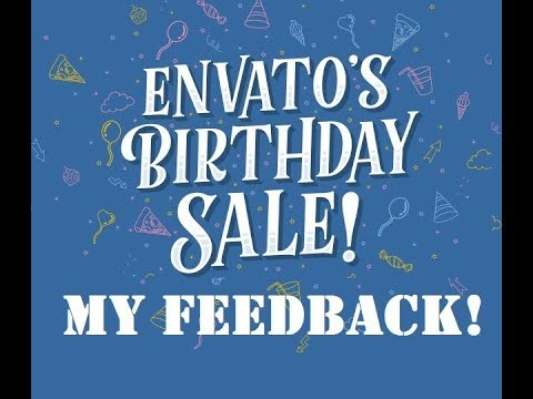 Getting promoted by Envato – my feedback after being included in the Envato Birthday Sale