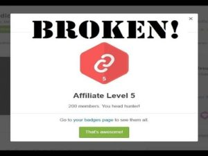 Envato profile affiliate badge is not updating any more! Why?