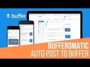 Bufferomatic Automatic Buffer Post Generator Plugin for WordPress
