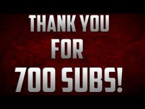 Thank You All for Reaching 700 Subscribers on This Channel! #thankyou